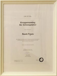 Kroppvaxning för fotterapeuter Besarta Kryziu